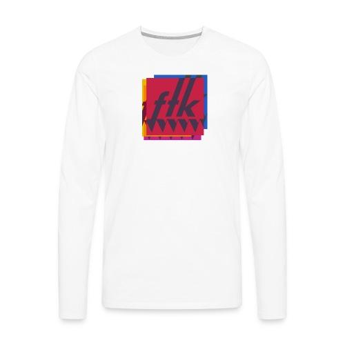 FTK 2019 - Långärmad premium-T-shirt herr