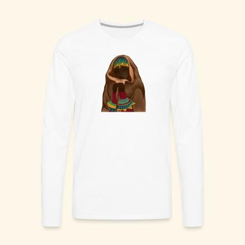 Femme bijou voile - T-shirt manches longues Premium Homme