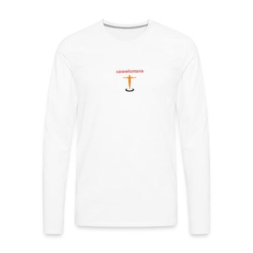 CARAVELLOMANIA - Maglietta Premium a manica lunga da uomo