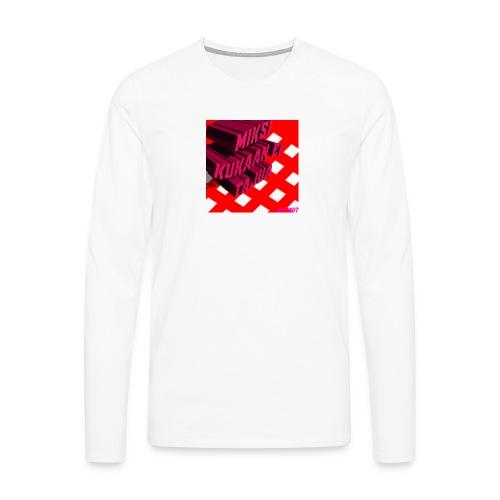 KukaaEiTajuu - Miesten premium pitkähihainen t-paita