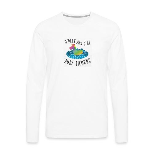 image - T-shirt manches longues Premium Homme
