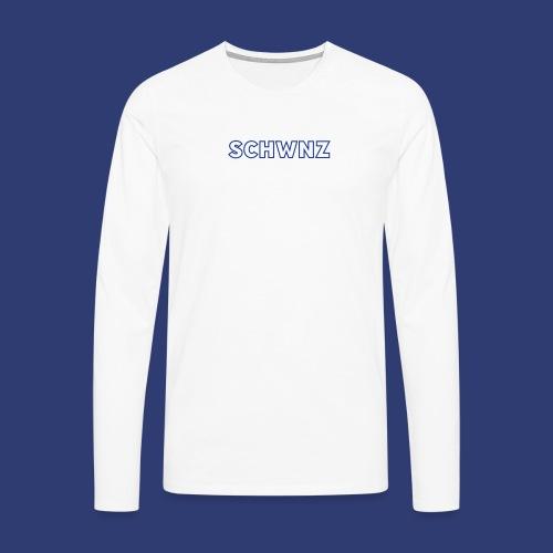 SCHWNZ - Mannen Premium shirt met lange mouwen