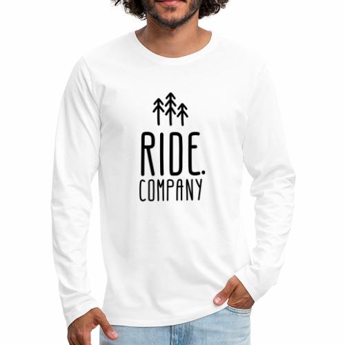 RIDE.company Logo - Männer Premium Langarmshirt