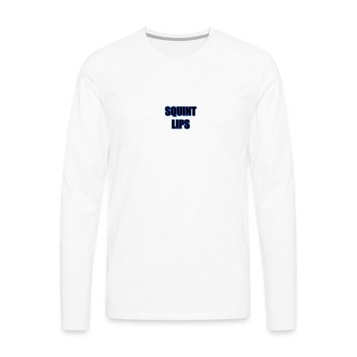 Squint Lips Merch - Men's Premium Longsleeve Shirt