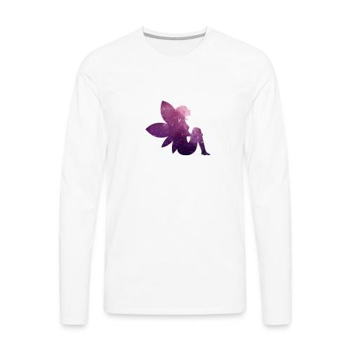 Purple fairy - Premium langermet T-skjorte for menn