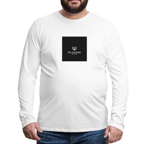 PSI CLOTHING Episode 1 - Männer Premium Langarmshirt