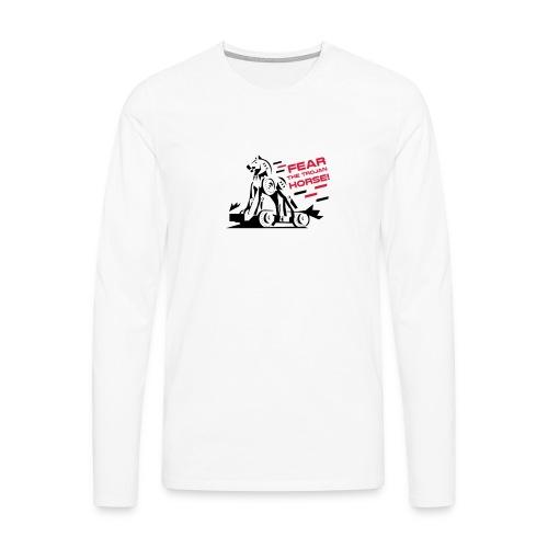 Fear the Trojan Horse - Men's Premium Longsleeve Shirt
