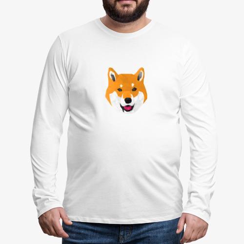 Shiba Dog - T-shirt manches longues Premium Homme