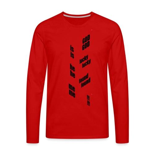 G.I.L.H.F.M. - Mannen Premium shirt met lange mouwen