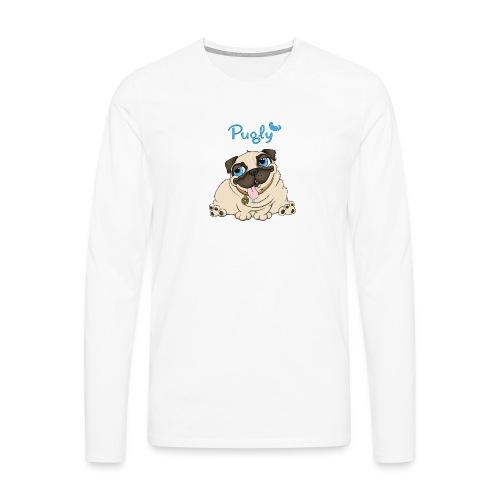 Doughnut - Långärmad premium-T-shirt herr