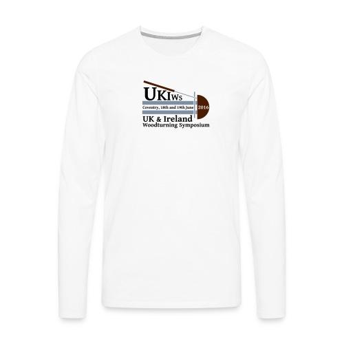 SMALL-UKIWS-Logo - Men's Premium Longsleeve Shirt