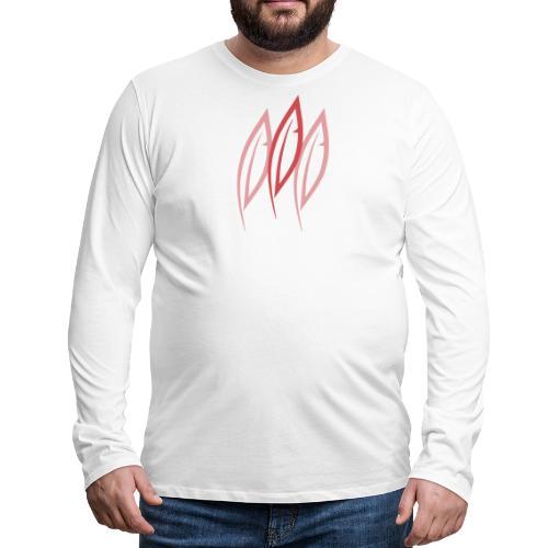 Logo - Trois plumes - T-shirt manches longues Premium Homme