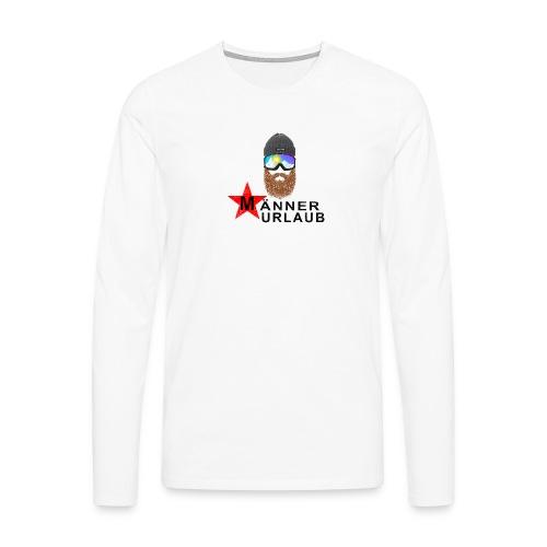 Männerurlaub - Männer Premium Langarmshirt