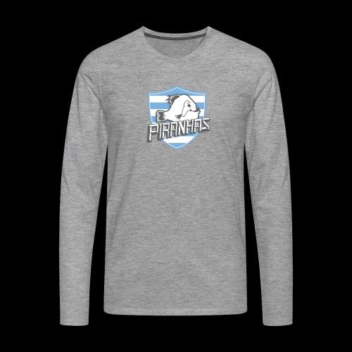 Logo Piranhas v5 - T-shirt manches longues Premium Homme