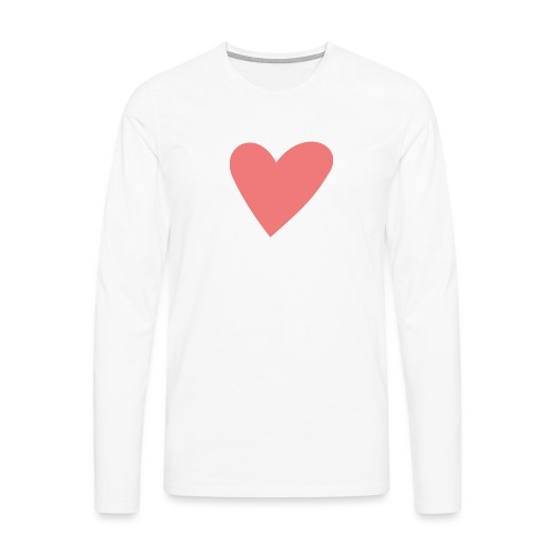 Popup Weddings Heart - Men's Premium Longsleeve Shirt