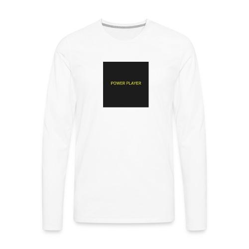 Power player - Maglietta Premium a manica lunga da uomo