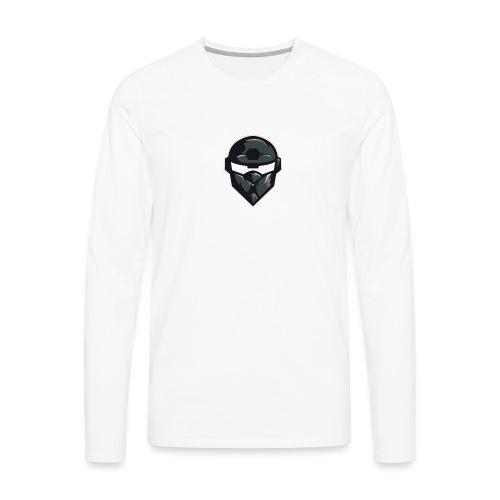 Mainlogo - Herre premium T-shirt med lange ærmer