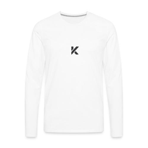 KeowLogo - T-shirt manches longues Premium Homme