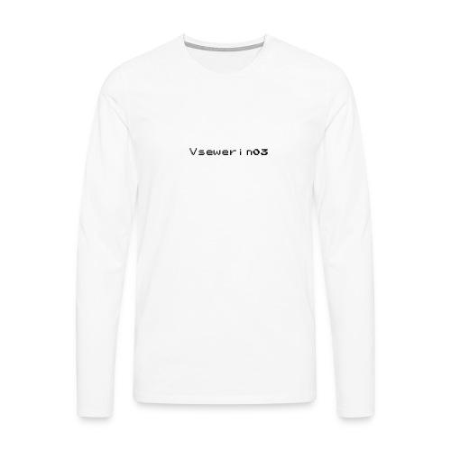 vsewerin03 exclusive tee - Herre premium T-shirt med lange ærmer