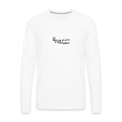 Benjamin O'Callaghan Vlogs - Men's Premium Longsleeve Shirt