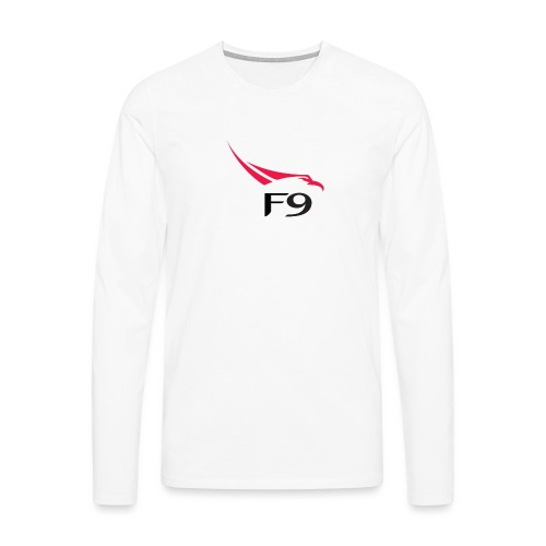 Falcon 9 logo by SpaceX png - T-shirt manches longues Premium Homme