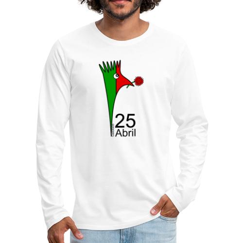 Galoloco - 25 Abril - T-shirt manches longues Premium Homme