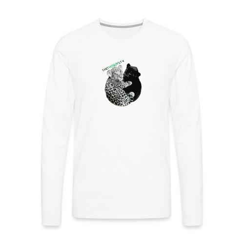 panther jaguar Limited edition - Herre premium T-shirt med lange ærmer