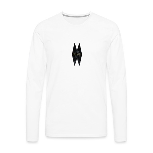 MELWILL black - Men's Premium Longsleeve Shirt