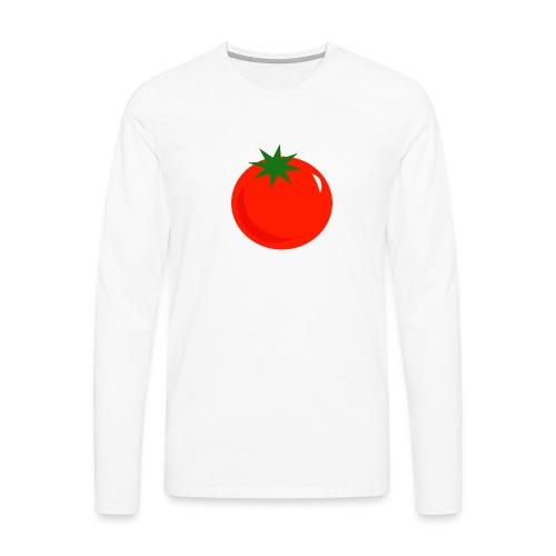 Tomate - Camiseta de manga larga premium hombre