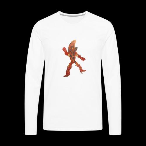 Fire Blast Show Star BY TAiTO - Miesten premium pitkähihainen t-paita