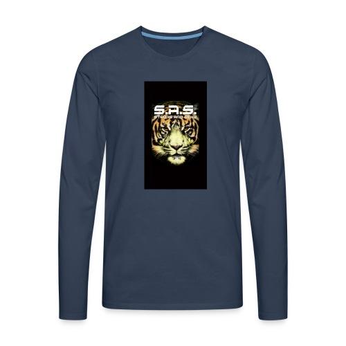 sas tiger wide jpg - Mannen Premium shirt met lange mouwen
