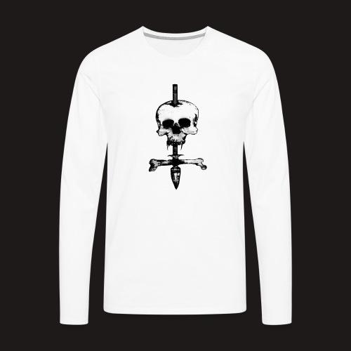Skull Symbol - Männer Premium Langarmshirt