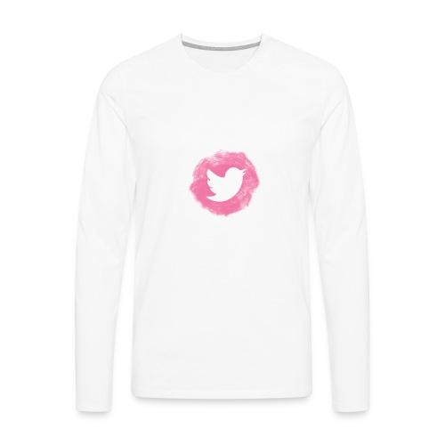 pink twitt - Men's Premium Longsleeve Shirt