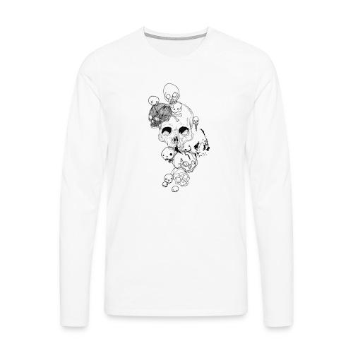 Skulls - Männer Premium Langarmshirt