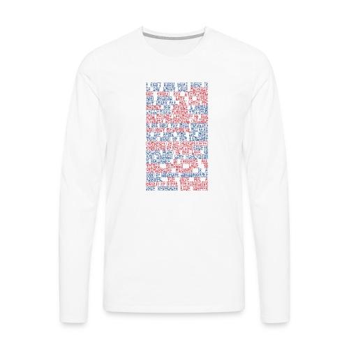 Capital Love - Men's Premium Longsleeve Shirt