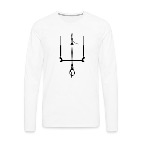 kitebar_gallovenezia_unic - Maglietta Premium a manica lunga da uomo