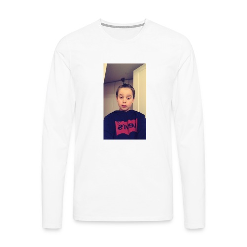 vilgot loow - Långärmad premium-T-shirt herr