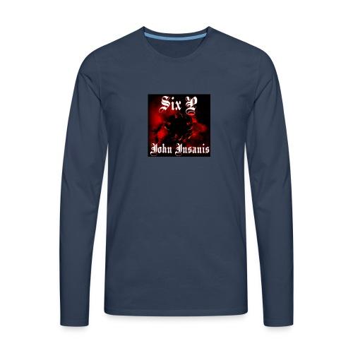 Six P John Insanis T-Paita - Miesten premium pitkähihainen t-paita