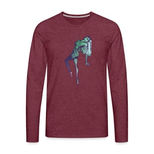 Mama Nature Northern Lights - Men's Premium Longsleeve Shirt