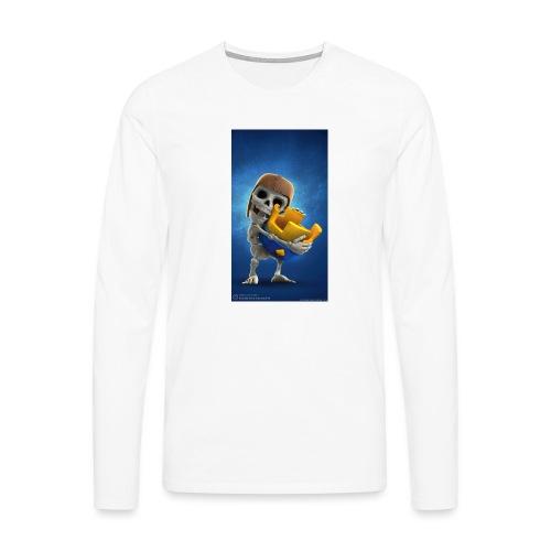TheClashGamer t-shirt - Männer Premium Langarmshirt