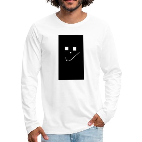 Smile :) - Männer Premium Langarmshirt
