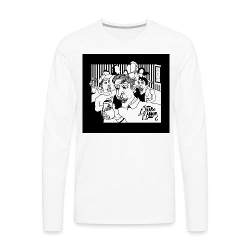 CHEAP LABOUR ALBUM COVER - Långärmad premium-T-shirt herr