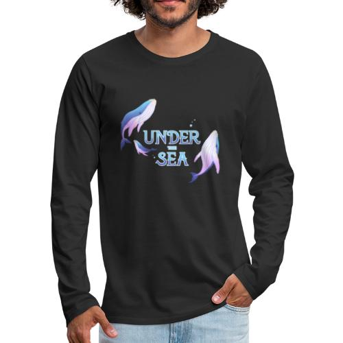 Under the Sea - Les Baleines - Men's Premium Longsleeve Shirt