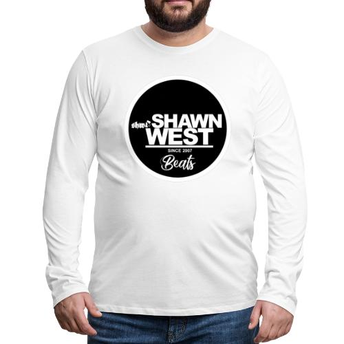 SHAWN WEST BUTTON - Männer Premium Langarmshirt