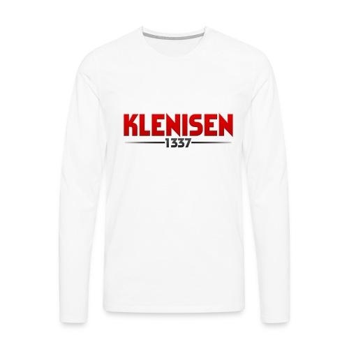 PlstonykappaShirt png - Långärmad premium-T-shirt herr