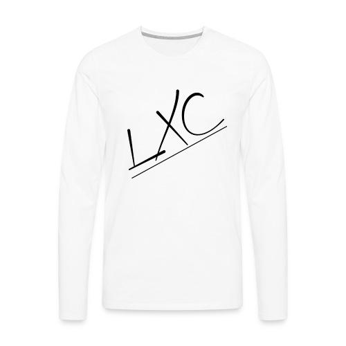 LXC INCLINADO gif - Camiseta de manga larga premium hombre