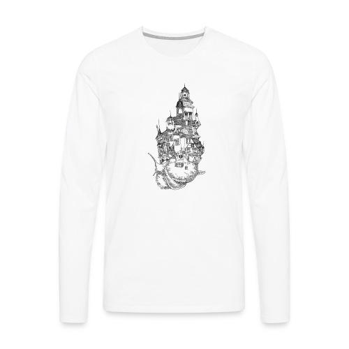 Schnecke - Männer Premium Langarmshirt