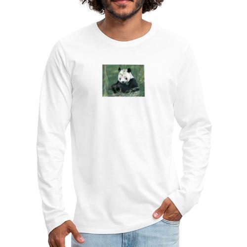 wiiiiiiiiiiiiiiiiie - Mannen Premium shirt met lange mouwen