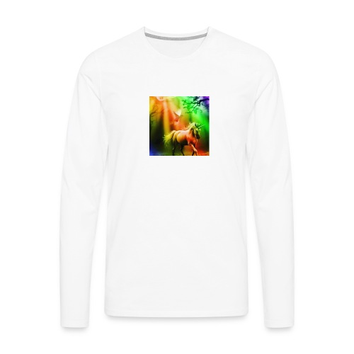 SASSY UNICORN - Men's Premium Longsleeve Shirt