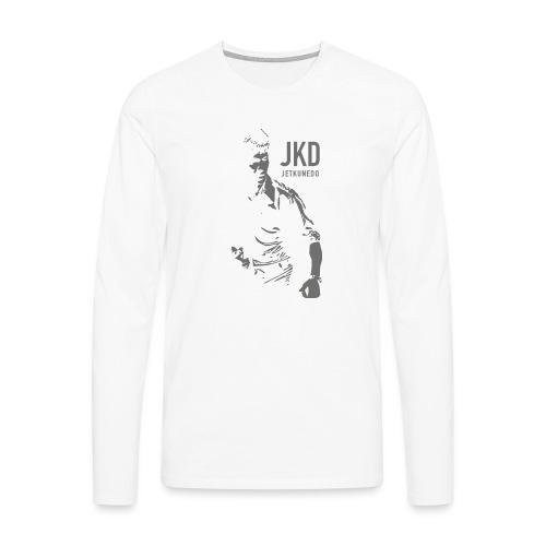 JKD - Maglietta Premium a manica lunga da uomo